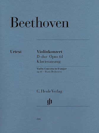 Product Cover for Concerto in D Major Op. 61