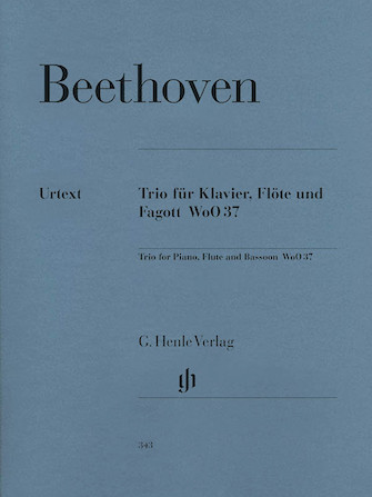 Product Cover for Trio for Piano, Flute, and Bassoon, WoO 37