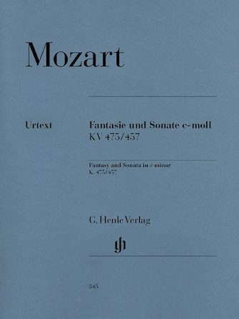 Product Cover for Fantasy and Sonata C minor K475/457