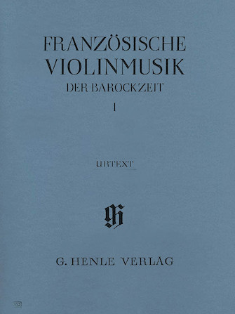 Product Cover for French Violin Music of the Baroque Era – Volume I