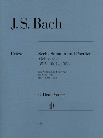 Product Cover for Sonatas and Partitas BWV 1001-1006