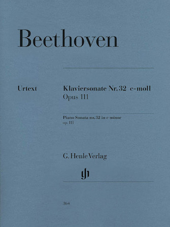 Product Cover for Piano Sonata No. 32 in C minor Op. 111