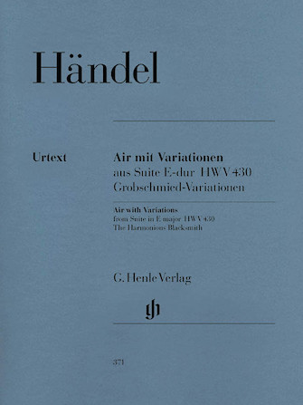 Product Cover for Air with Variations (The Harmonious Blacksmith)
