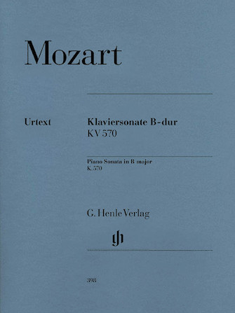 Product Cover for Piano Sonata in B Flat Major K570