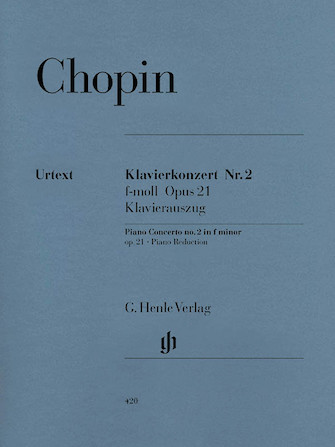 Product Cover for Concerto for Piano and Orchestra F minor Op. 21, No. 2