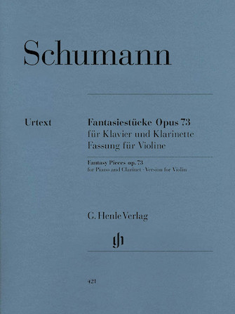 Product Cover for Fantasy Pieces for Piano and Clarinet Op. 73