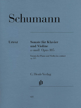 Product Cover for Sonata for Piano and Violin in A Minor Op. 105