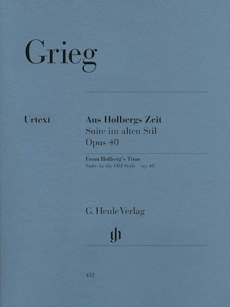 Product Cover for From Holberg's Time Op. 40