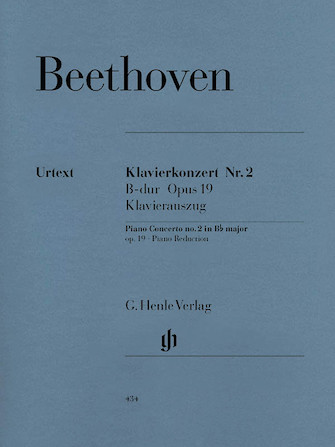 Product Cover for Concerto for Piano and Orchestra B Flat Major Op. 19, No. 2
