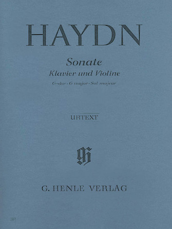 Sonata for Piano and Violin in G Major Hob. XV:32