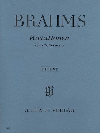 Product Cover for Variations Op. 21 Nos. 1 and 2