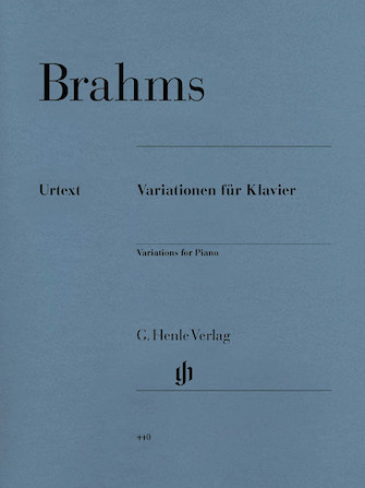 Product Cover for Variations for Piano