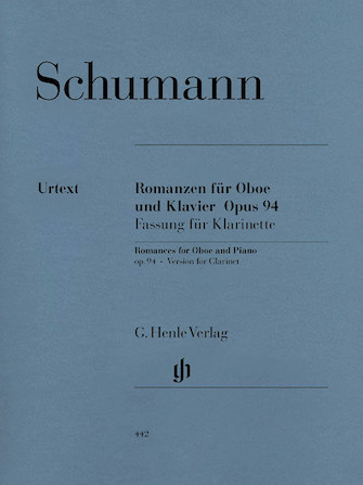 Product Cover for Romances for Oboe and Piano, Op. 94