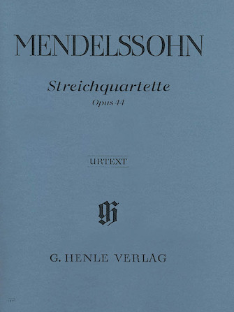 Product Cover for String Quartets Op. 44, No. 1-3