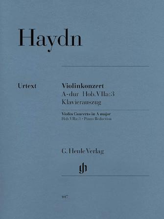 Concerto for Violin and Orchestra in A Major Hob. VIIa:3