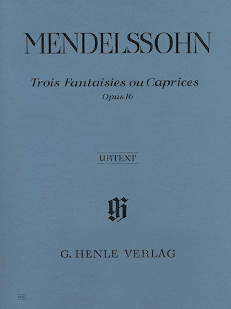 Product Cover for 3 Fantasies ou Caprices Op. 16