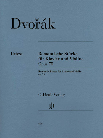Product Cover for Romantic Pieces for Violin and Piano Op. 75