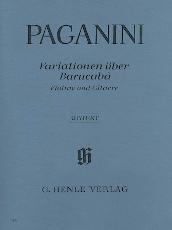 Product Cover for 60 Variations on Barucabá for Violin and Guitar Op. 14