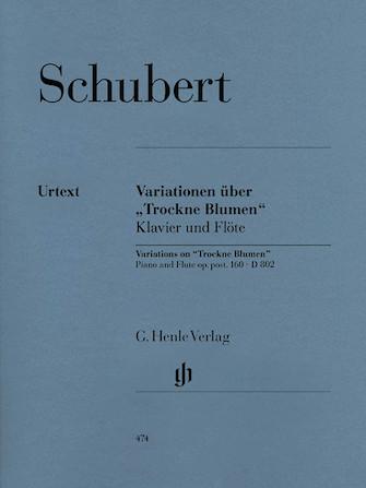 "Product Cover for Variations on ""Trockne Blumen"" in E minor, Op. Posth. 160, D 802"
