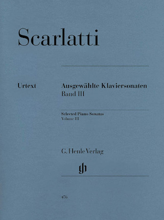 Product Cover for Selected Piano Sonatas – Volume III