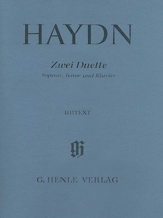 Product Cover for 2 Duets for Soprano, Tenor and Piano Hob.XXVa:2 and 1