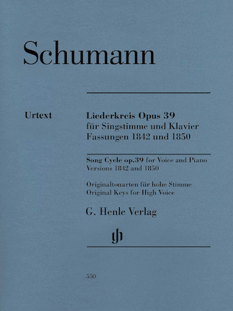 Product Cover for Liederkreis, Op. 39