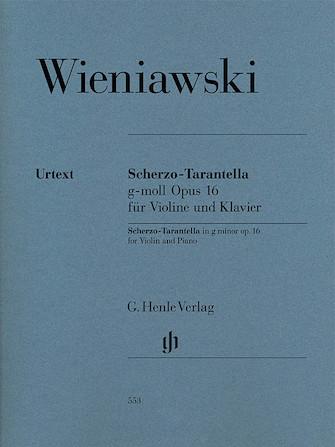 Product Cover for Scherzo-Tarantella in G minor, Op. 16