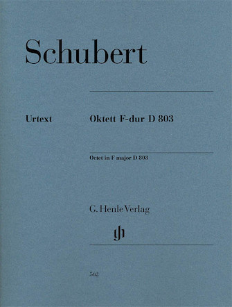 Product Cover for Octet in F Major D 803