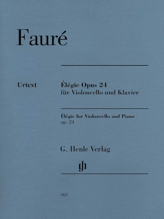 Product Cover for Gabriel Fauré – Élégie for Violoncello and Piano, Op. 24