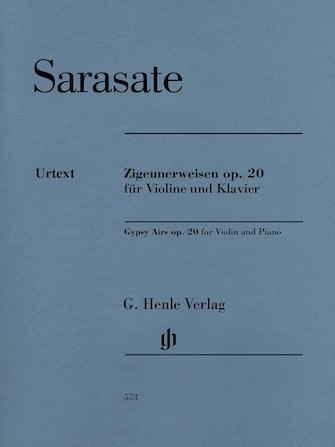 Product Cover for Gypsy Airs, Op. 20 (Zigeunerweisen Opus 20)