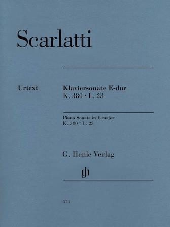 Product Cover for Piano Sonata in E Major, K. 380, L. 23