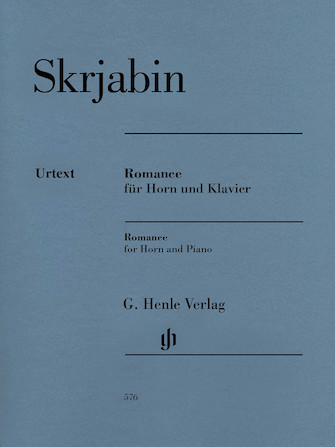 Product Cover for Romance for Horn and Piano