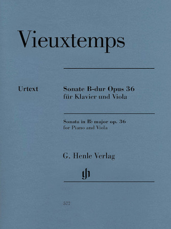 Product Cover for Viola Sonata in B-Flat Major, Op. 36