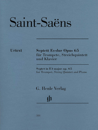Product Cover for Septet in E-flat Major, Op. 65