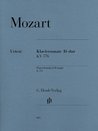 Product Cover for Piano Sonata in D Major K576