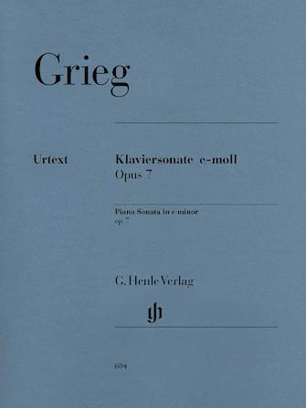 Product Cover for Piano Sonata in E minor Op. 7