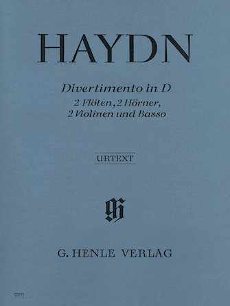 Product Cover for Divertimento D Major Hob II:8