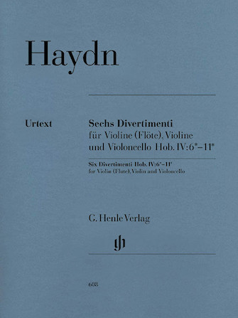 Product Cover for 6 Divertimenti Hob.IV:6-11