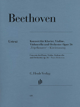 Product Cover for Concerto for Piano, Violin, Violoncello, and Orchestra C Major Op. 56