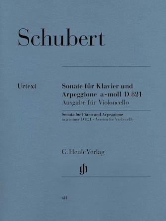 Product Cover for Sonata for Piano and Arpeggione A minor D 821 (Op. Posth. (Version for Violoncello)