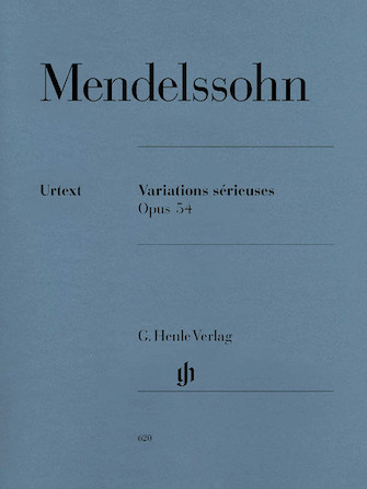 Product Cover for Variations Sérieuses, Op. 54