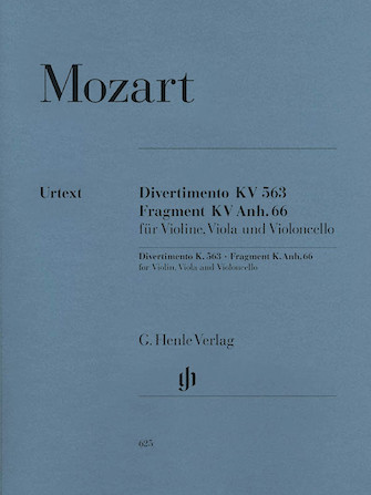 Product Cover for String Trio E Flat Major K.563