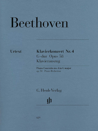 Product Cover for Concerto for Piano and Orchestra G Major Op. 58, No. 4