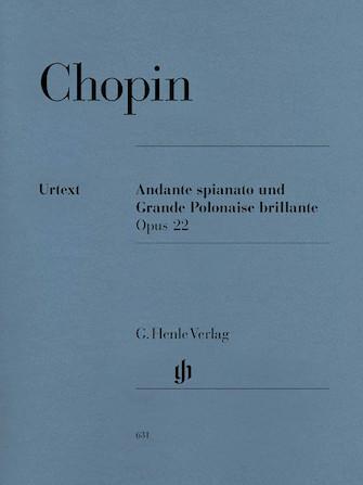 Product Cover for Andante Spianato and Grande Polonaise Brillante E Flat Major Op. 22