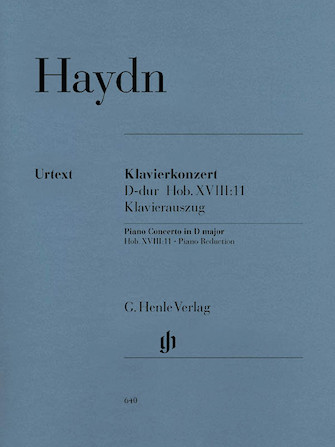 Product Cover for Concerto for Piano (Harpsichord) and Orchestra D Major Hob.XVIII:11