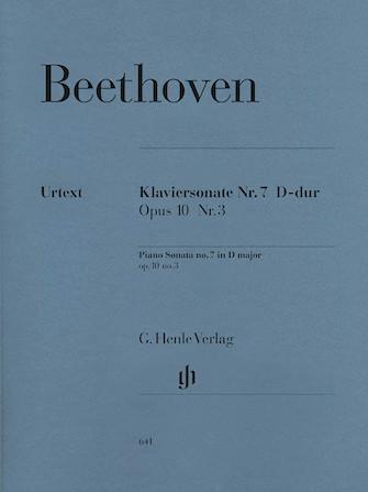 Product Cover for Piano Sonata No. 7 D Major Op. 10, No. 3