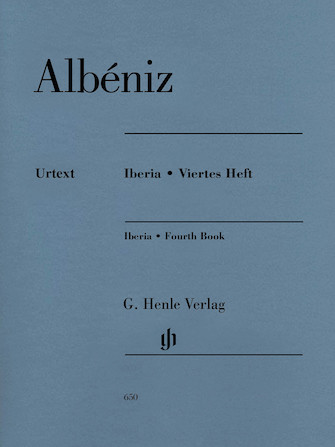 Product Cover for Isaac Albéniz – Iberia, Fourth Book