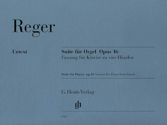 Product Cover for Suite in E minor for Organ Op. 16 – First Edition