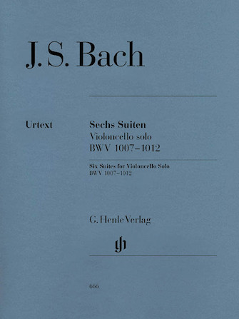 Product Cover for 6 Suites for Violoncello Solo BWV 1007-1012