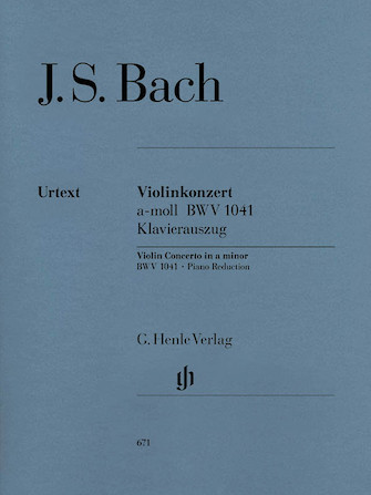 Product Cover for Concerto for Violin and Orchestra in A minor BWV 1041